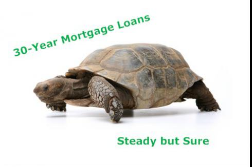 30-Year Mortgage Loans - Steady but Sure