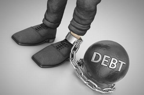 Prisoner to your debt? Take the right steps to become debt free.