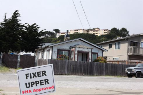 Buy a Home that needs repairs wtih an FHA 203k loan, the best loan to use to buy a fixer-upper