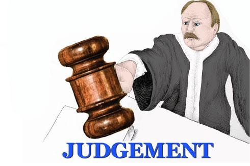 judgment filed against you