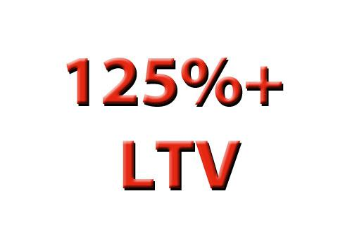 Refinance, even when your LTV is 125% or more