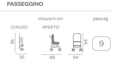 Chicco - Trio Sprint blue passion - CHICCO - Sistemi modulari