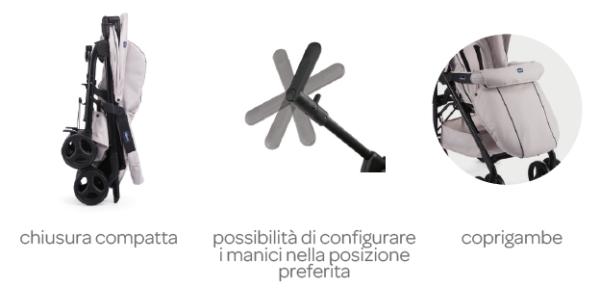 Chicco - Trio Sprint sandshell - CHICCO - Sistemi modulari