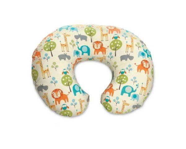 Cuscino Boppy con fodera cotone Peaceful Jungle - Accessori Pappa e Allattamento