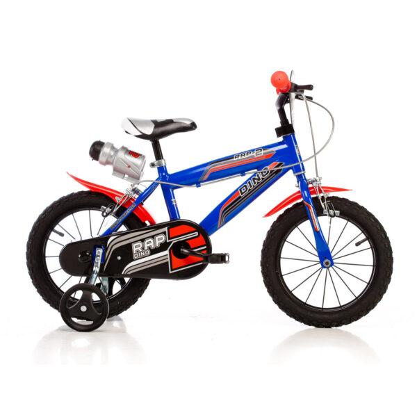 Bicicletta bambino 14 (Mod. MTB) Blu - DINO BIKES
