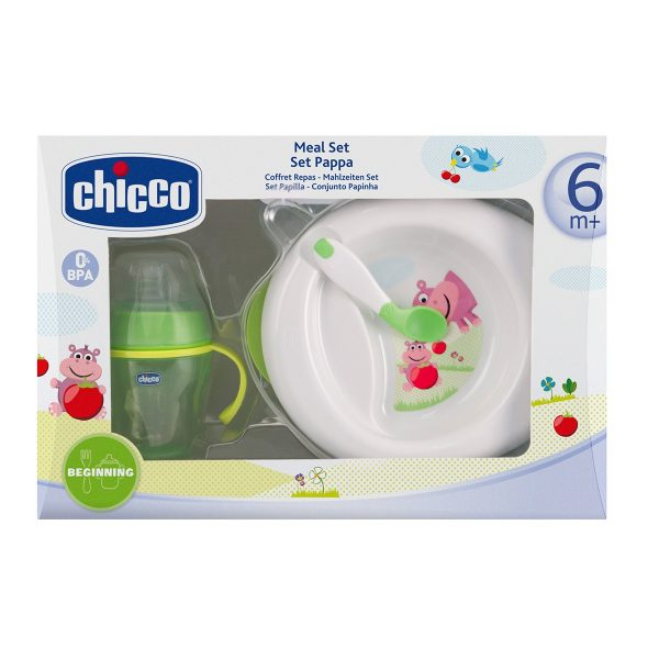 CHICCO - Set Pappa 6m+ verde - CHICCO