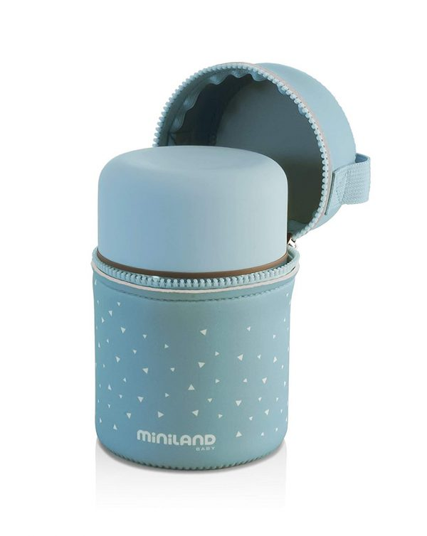 Silky thermos blue 350ml - MINILAND - Accessori Pappa e Allattamento