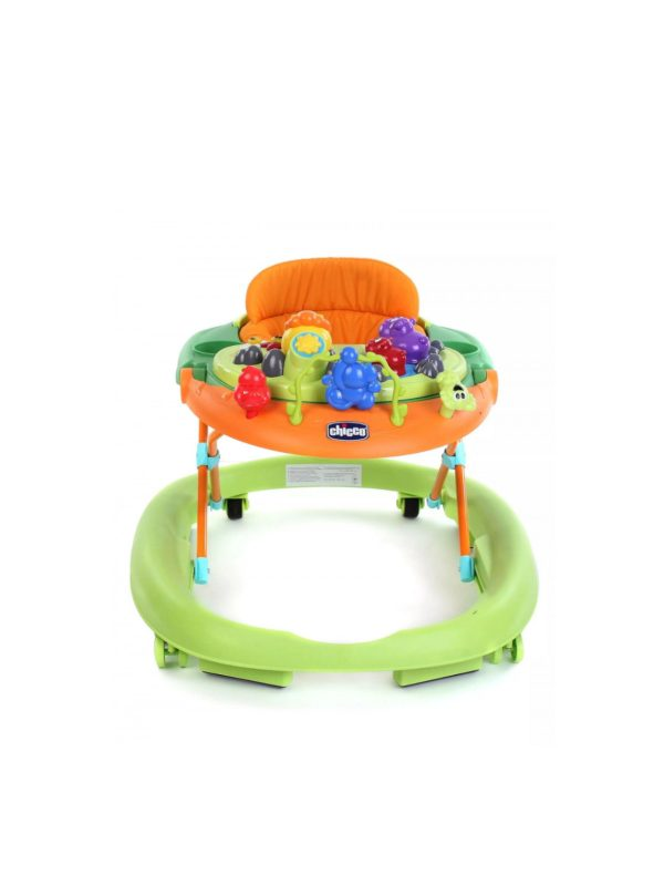 CHICCO - WALKY TALKY BABY WALKER GREEN WAVE 6102 - CHICCO - Girelli
