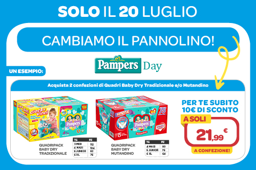 Pampers Day 20/07