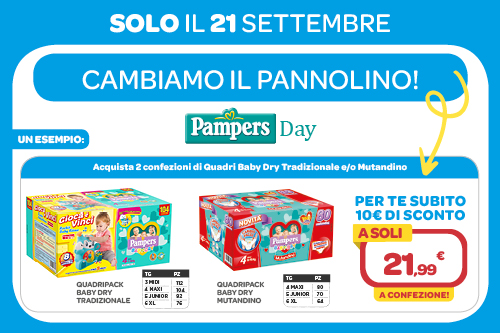 Pampers day 21/09