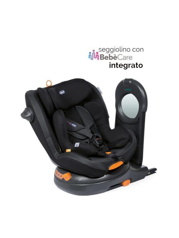 Chicco Around U Jet Black  <b> con Bebècare integrato </b> - CHICCO