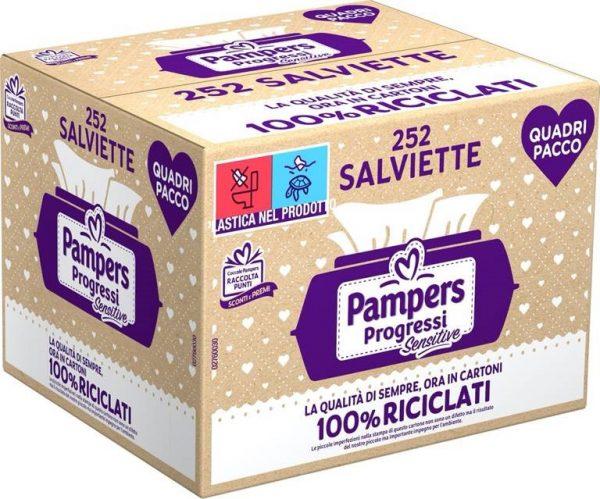 Pampers - Salviette Sensitive New 252 pz - Pampers