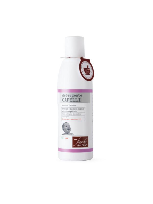 Detergente CAPELLI 200 ml - Fiocchi di Riso - Cura e cosmesi bambino