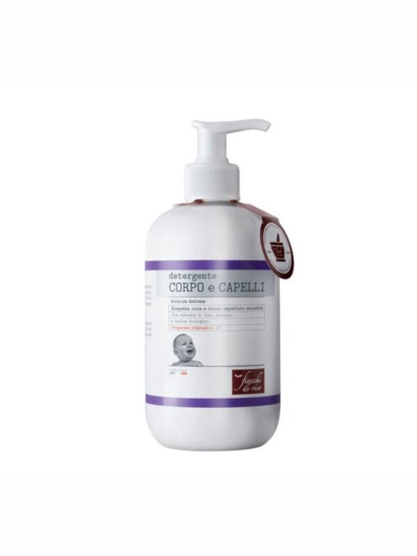 Detergente CORPO e CAPELLI 400 ml - Fiocchi di Riso - Cura e cosmesi bambino
