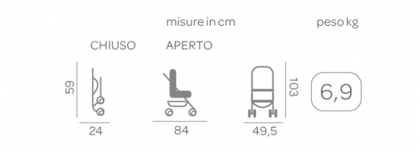 Passeggino Trolley Me Stone - CHICCO - Chicco