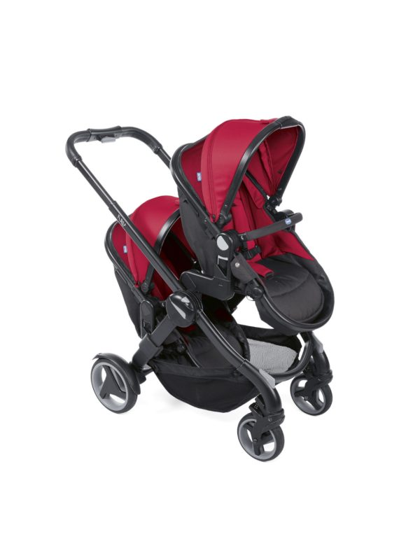 Passeggino Fully Twin Red Passion - CHICCO - Chicco