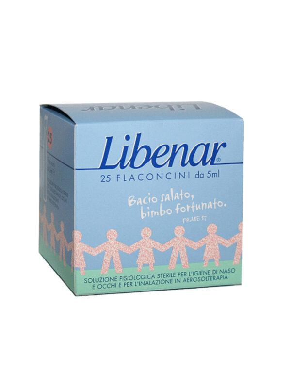 Libenar Soluzione fisiologica per naso e occhi 25x 5ml - Libenar - Cura e cosmesi bambino