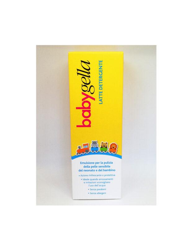 Latte detergente 250 ml - BABYGELLA - Cura e cosmesi bambino