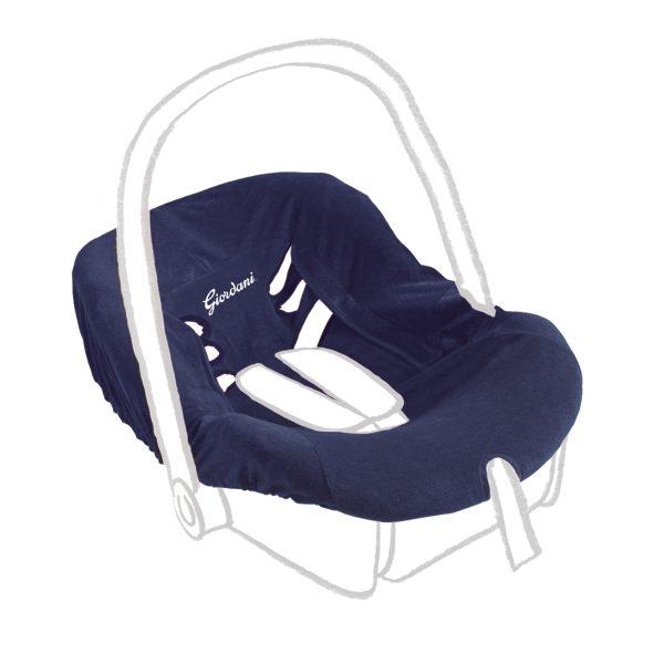 Copriseggiolino GR. 0+ blu navy - GIORDANI - Accessori per Auto