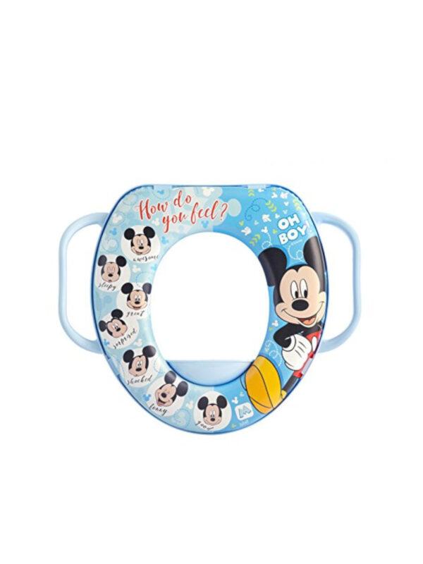 Riduttore WC con manici Disney Mickey - DISNEY - Vasini e riduttori