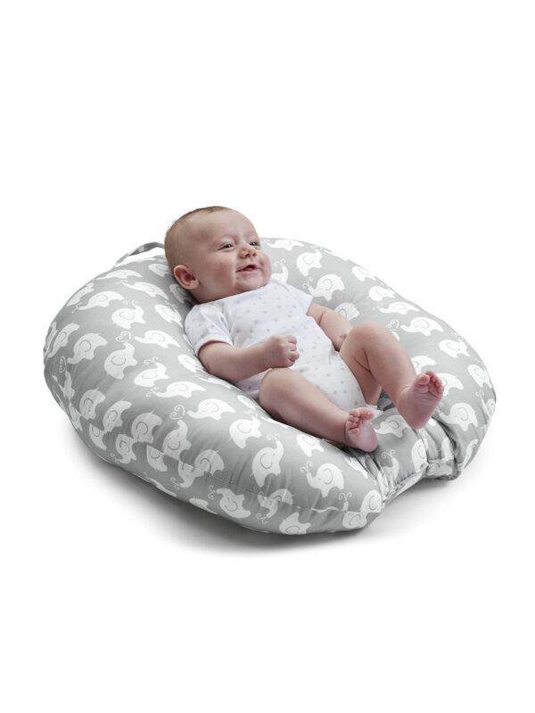 Cuscino Boppy Hug & Nest grigio - BOPPY - Cuscini e accessori lettini