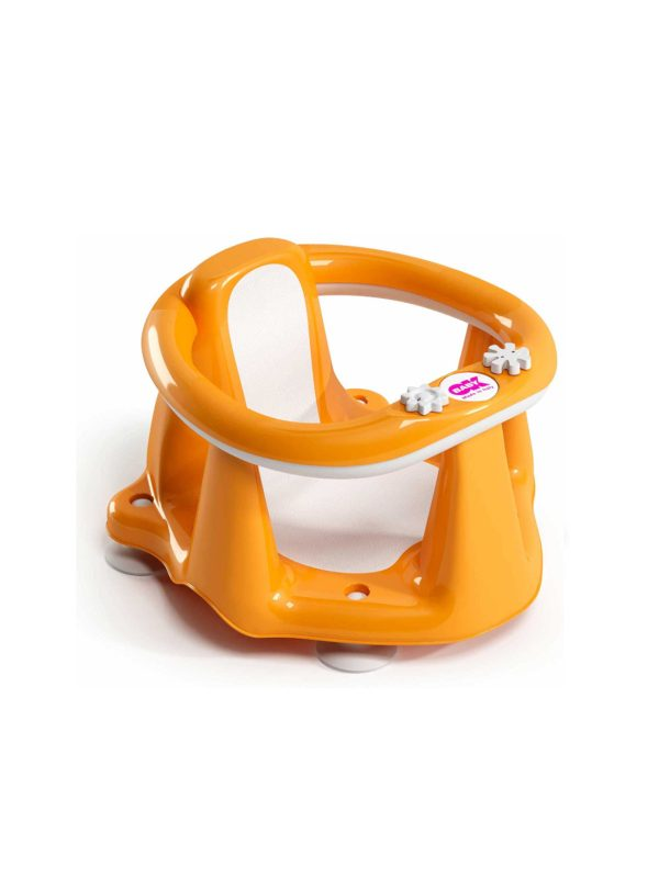 Supporto bagno Flipper Evolution arancio - OK BABY - Accessori Cambio