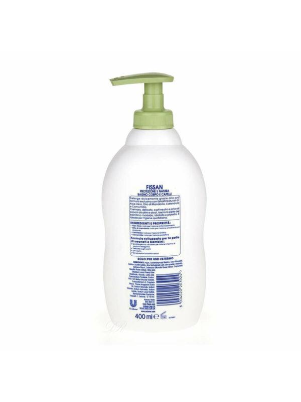 Fissan Bagno Corpo Capelli Protezione E Natura 400 ml - FISSAN - Cura e cosmesi bambino