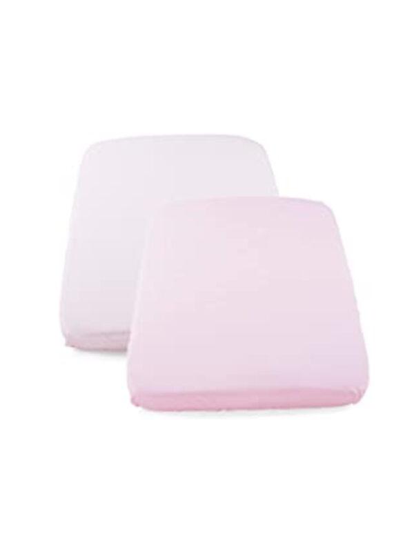 Set Lenzuola culla 2 pezzi Pois Rosa per Next2Me - CHICCO - Culle, materassi e accessori