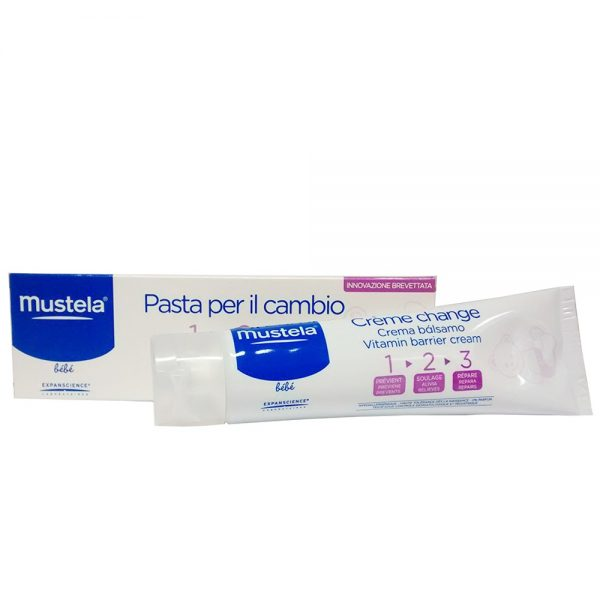 Mustela Pasta Lenitiva per il Cambio tripla azione 100 ml - MUSTELA - Accessori Cambio