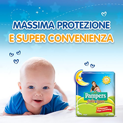 Pampers Sole e Luna  Maxi Taglia 4 (7-18 kg) - 18 pz - Pampers