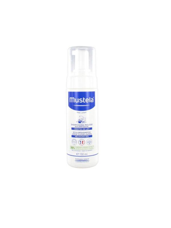 Mustela Shampoo Mousse  crosta lattea 150ml - MUSTELA - Cura e cosmesi bambino