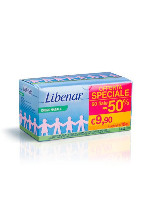 Libenar Iso monodose 60 flaconcini da 5 ml - Libenar - Cura e cosmesi bambino
