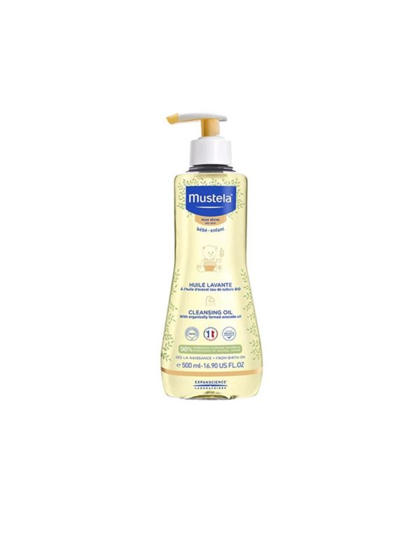 Mustela Olio Bagno Pesca  500 ml - MUSTELA - Cura e cosmesi bambino