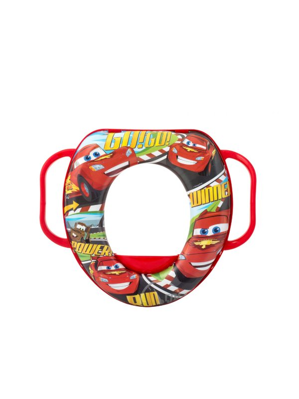 Riduttore WC con manici Disney Cars - DISNEY - Vasini e riduttori