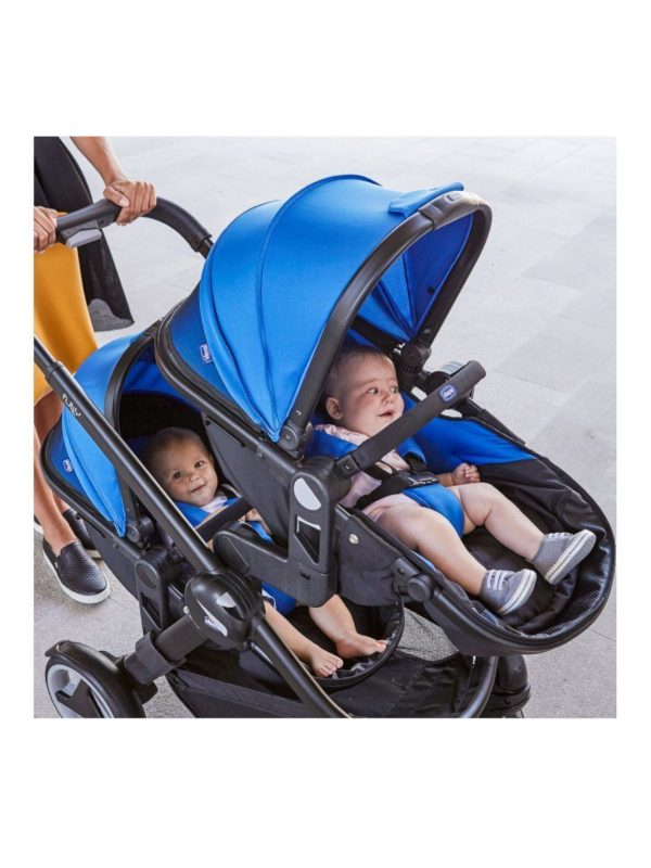 Chicco - Passeggino Fully Twin Power Blue - CHICCO