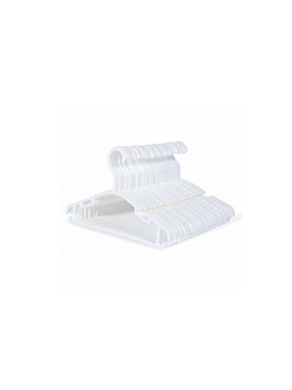 Appendi abiti in plastica Bianco 6 pz - GIORDANI - Accessori cameretta