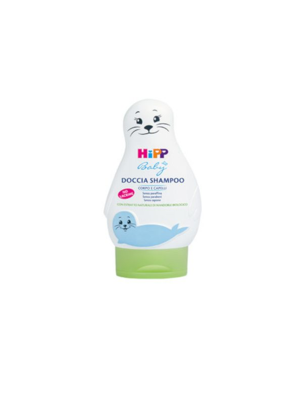 Doccia shampoo fochetta 200 ml - HIPP BABY - Cura e cosmesi bambino