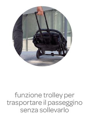 Passeggino Trolley Me Light Grey - CHICCO - Chicco