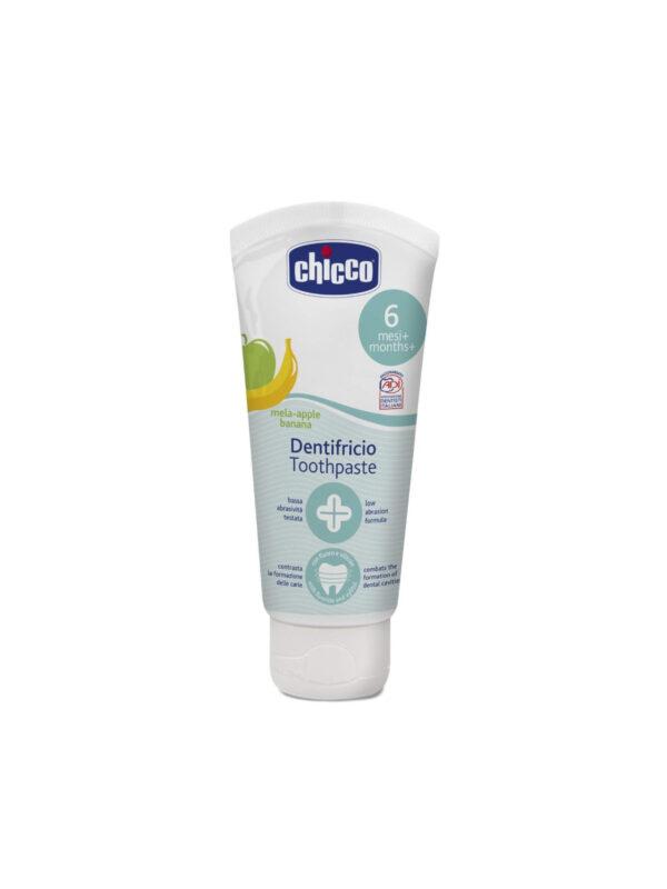 Dentifricio Mela Banana 6M+ con Fluoro 50 ml - CHICCO - Cura e cosmesi bambino