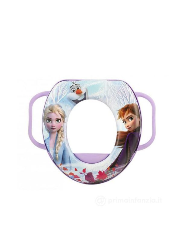 Riduttore WC con manici Disney Frozen 2 - DISNEY - Vasini e riduttori