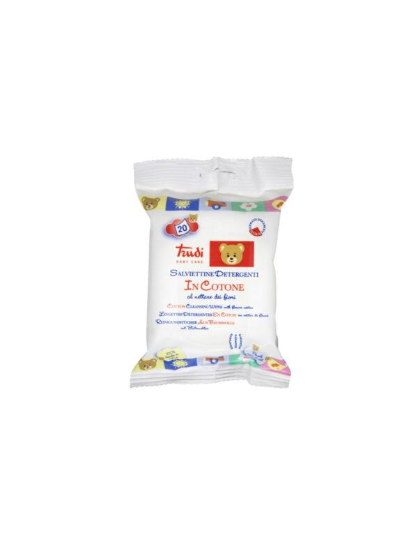 Salviettine detergenti nettare di fiori 20 pz - TRUDI - Cura e cosmesi bambino