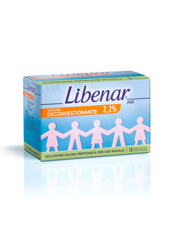 Libenar Soluzione salina sterile ipertonica 18 x 5ml - Libenar - Cura e cosmesi bambino