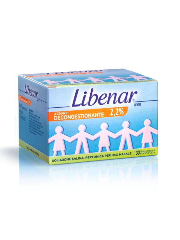 Libenar Soluzione salina sterile ipertonica 30 fiale da 5ml - Libenar - Cura e cosmesi bambino