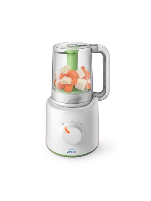 Philips Avent EasyPappa - Cuocipappa multifunzione 2 in 1 (cuoce a vapore e frulla) - PHILIPS AVENT - Cucina