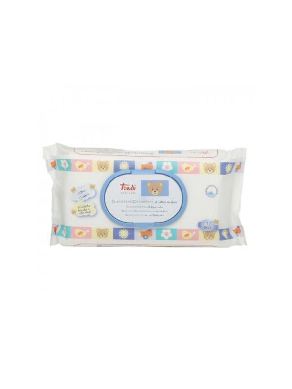Salviettine detergenti nettare di fiori 72 pz - TRUDI - Cura e cosmesi bambino