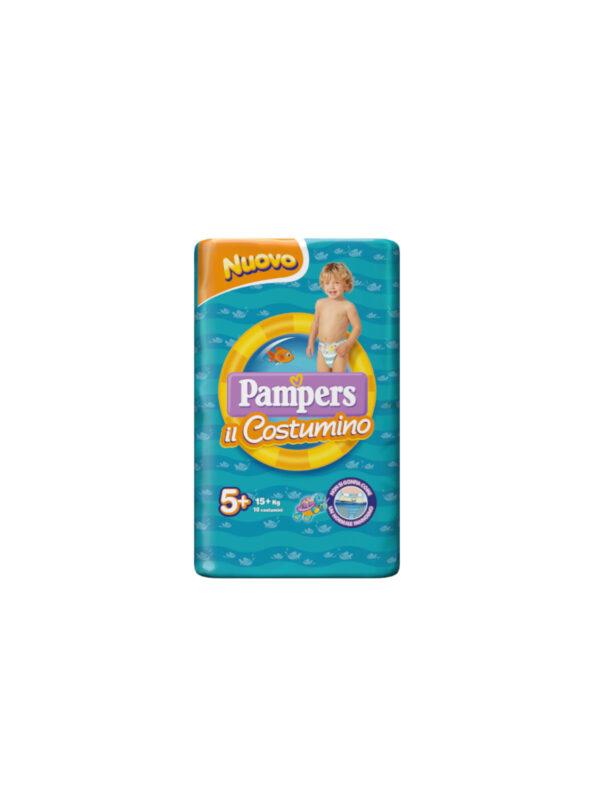 Pampers il Costumino Taglia 5+ (15+ kg) - 10 pz - Pampers