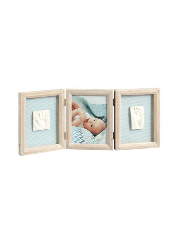 Portafoto My Baby Touche Stormy Double (calco doppio) - BABY ART - Accessori cameretta