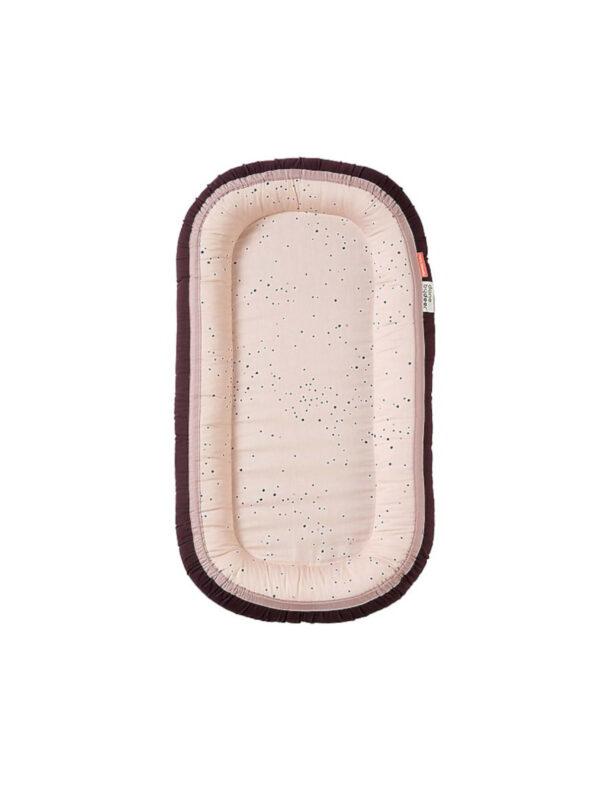 Riduttore Dreamy  Dots Rosa cipria cotone - DON BY DEER - Culle, materassi e accessori