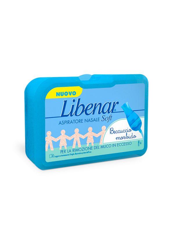 Libenar Aspiratore Nasale Soft + 5 filtri - Libenar - Cura e cosmesi bambino