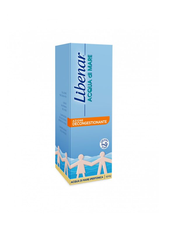 Libenar Acqua di Mare Spray 100ml - Libenar - Cura e cosmesi bambino